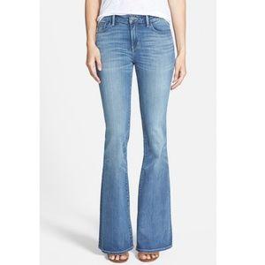 Treasure & Bond Mid Rise Skinny Flare Jeans NEW